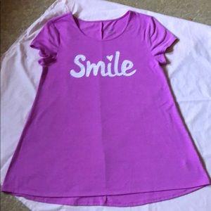 "Girls Justice ""Smile"" Shirt, Size 20"
